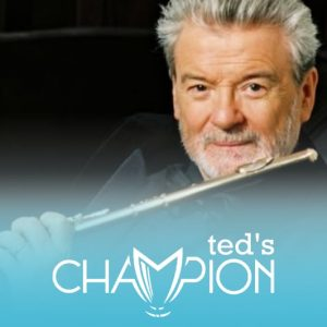 Sir James Galway Flute Champion